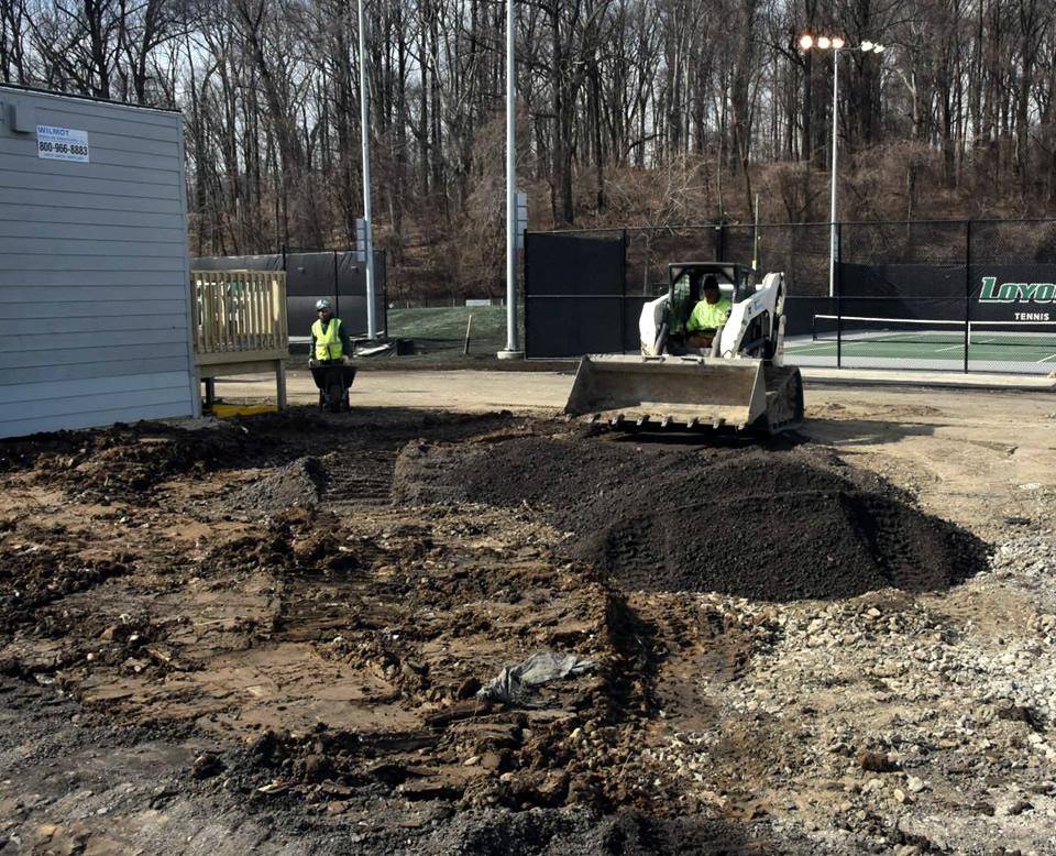 Paving Utilities Trenton Contracting Company